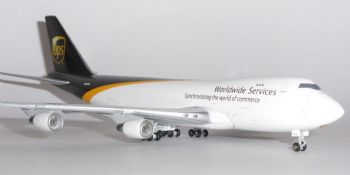 Boeing 747-400 UPS United Parcel Service Gemini Jets Model Scale 1:400 GJUPS861B N572UP E